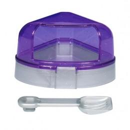 Trixie туалет угловой для хомяка с крышкой
