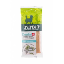 Titbit Лакомство Дентал+ Снек с бараниной