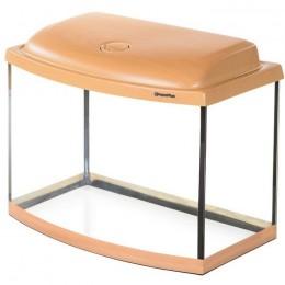AquaPlus аквариум 50 бук фигурный со светильником STD 1*14Вт 081800 500*300*350