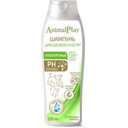 Animal Play-Шампунь для щенков и котят Гипоаллергенный Протеин пшеницы 250мл