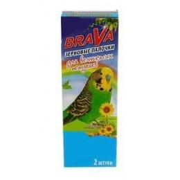 BRAVA: лакомство палочки для попугаев витаминно-минеральные 2шт.