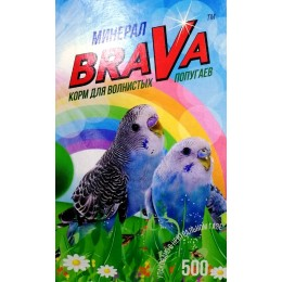 Брава: зерносмесь для волнистых попугаев Минерал 500г