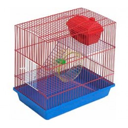 Зоомарк Клетка для грызунов 3-хэтажная Комплект