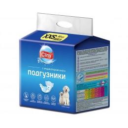 Cliny Подгузники для кошек и собак XXS 12шт