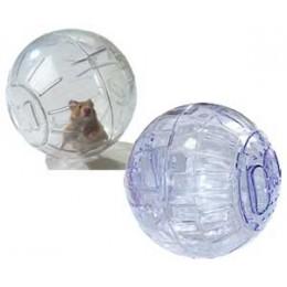 Гоша: игрушка для грызунов шар прозрачный 12см S203