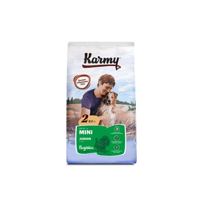 Karmy Mini Junior сухой корм для щенков мелких пород с индейкой 2кг