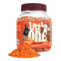 "Little One: лакомство ""Сушеная морковь"" для грызунов 150гр"