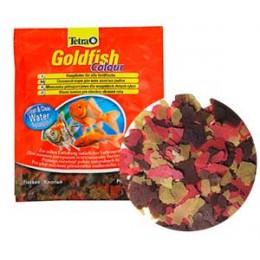 Tetra Coldfish Color Flocken корм для окраса золотых рыб 0.012кг