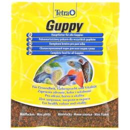Tetra Guppy 12г корм для гуппи и других живородящих рыб