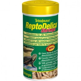 Tetra Repto Delica Shrimps корм для черепах, игуан и ящериц 0.250л