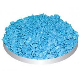 Triton Грунт для аквариума блестящий голубой мелкий 800гр.