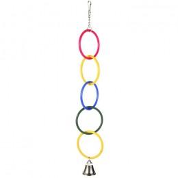 Trixie игрушка для птиц кольца 25см 5235