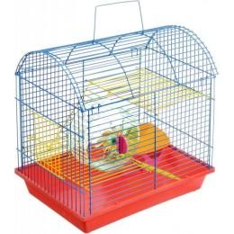 Zoomark Клетка для грызунов Полукруглая 2-этажная